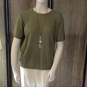 Alfred Dunner knit sweater